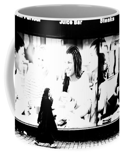 Bradford Coffee Mug featuring the photograph A Muddled World by Jez C Self