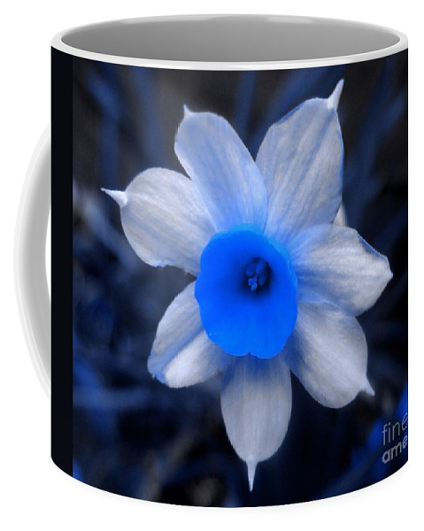 Symbolism Coffee Mug featuring the photograph A Narcissist Star by Joan-Violet Stretch