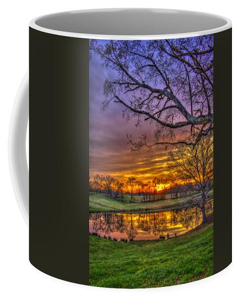 Reid Callaway Sunrise Coffee Mug featuring the photograph A New Day Dawns by Reid Callaway
