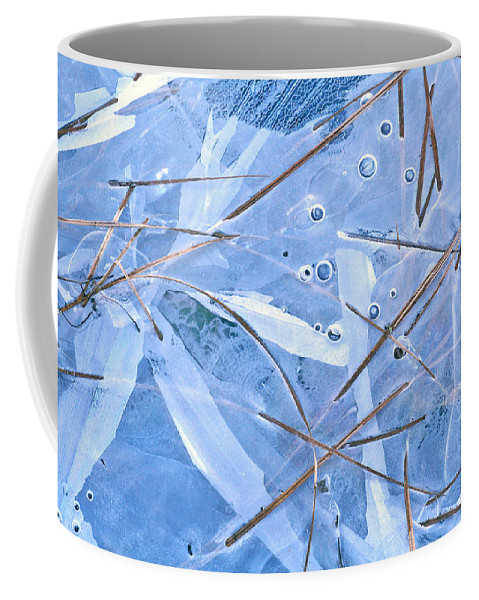 Ice Coffee Mug featuring the photograph A New Reality by Bill Morgenstern