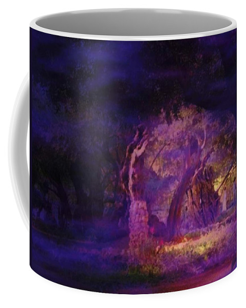 Easter Coffee Mug featuring the photograph A Night Of Weeping In The Garden Gethsemane Israel 2008 by Anastasia Savage Ealy