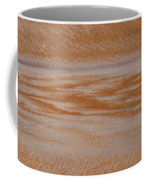 Sand Coffee Mug featuring the photograph A Path Out To Sea by Mandy Shupp