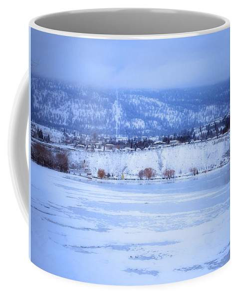 Penticton Coffee Mug featuring the photograph A Penticton Winter by Tara Turner