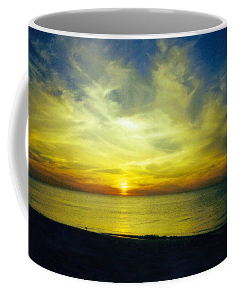 Sunset Coffee Mug featuring the photograph A Perfect Night by Jean Haynes