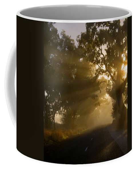 Highway Coffee Mug featuring the photograph A Road Less Traveled by Mike Dawson