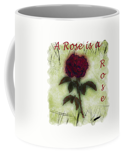 Flower Coffee Mug featuring the photograph A Rose by John M Bailey