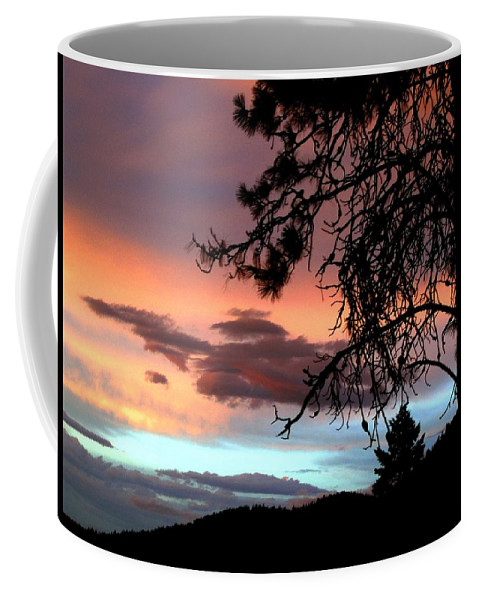 Sunset Coffee Mug featuring the photograph A Sky To Behold by Will Borden