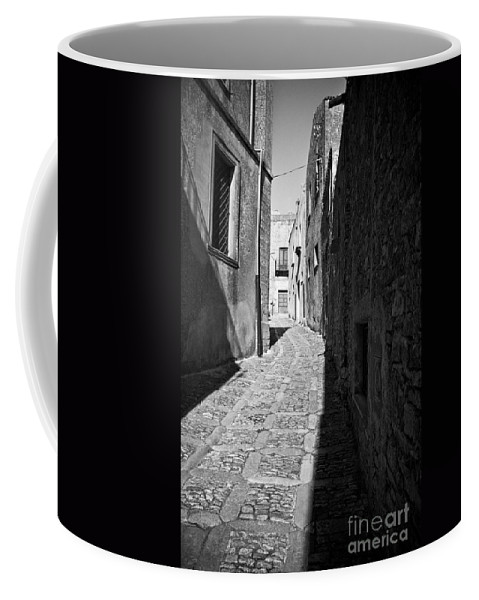 Street Coffee Mug featuring the photograph A Street In Sicily by Madeline Ellis