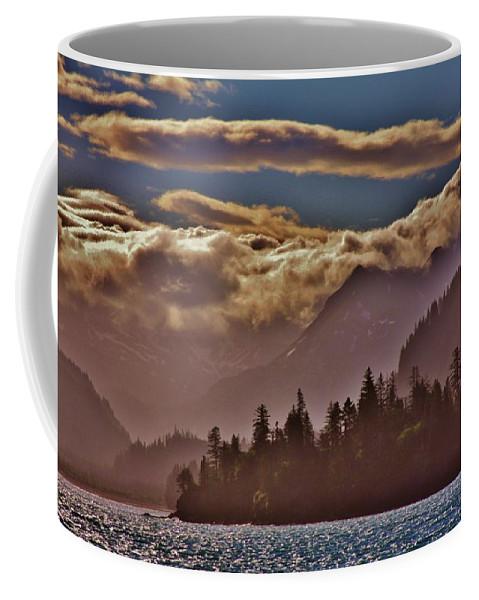 A Sunny Day On The Kachemak Bay Coffee Mug featuring the photograph A Sunny Day On The Kachemak Bay by Lori Mahaffey