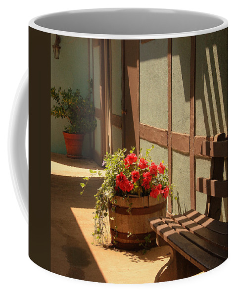 Photography Coffee Mug featuring the photograph A Sunny Spot by Susanne Van Hulst