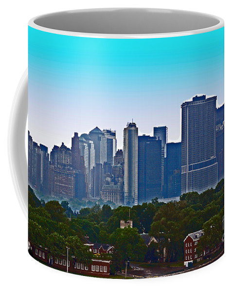 New York Coffee Mug featuring the photograph A Tree Grows In Brooklyn by Debbi Granruth