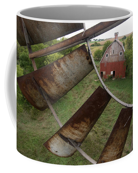 Photography Coffee Mug featuring the photograph A Turn-of-the-century Peg Barn As Seen by Joel Sartore