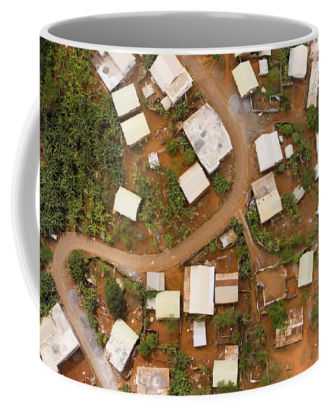 Mayotte Coffee Mug featuring the photograph A Typical Indigenous Village by Michael Fay