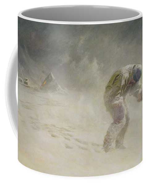 Very Coffee Mug featuring the painting A Very Gallant Gentleman by John Charles Dollman
