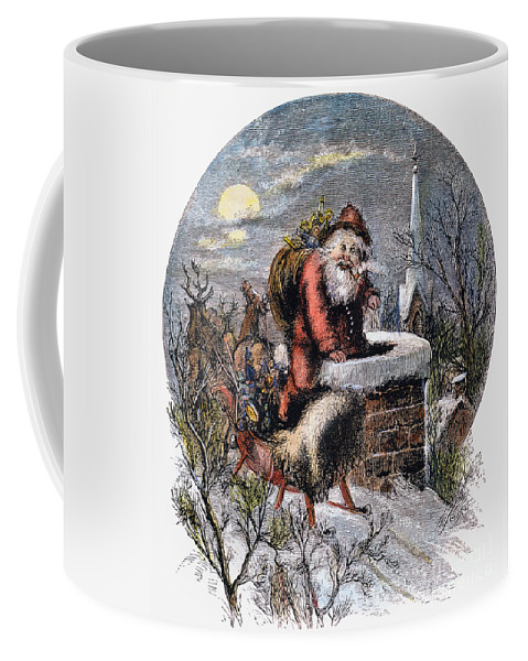 19th Century Coffee Mug featuring the photograph A Visit From St Nicholas by Granger