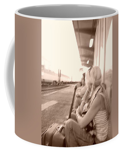 Fay Coffee Mug featuring the photograph A Waiting Game by Fay Lawrence