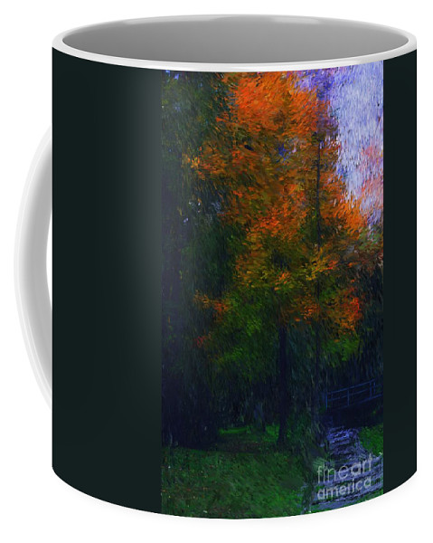 Autumn Coffee Mug featuring the photograph A Walk In The Park by David Lane