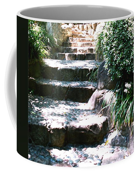 Stairs Coffee Mug featuring the photograph A Way Out by Dean Triolo
