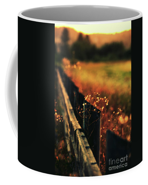 Sunrise Coffee Mug featuring the photograph A Weary Sunrise by Peter Ramirez