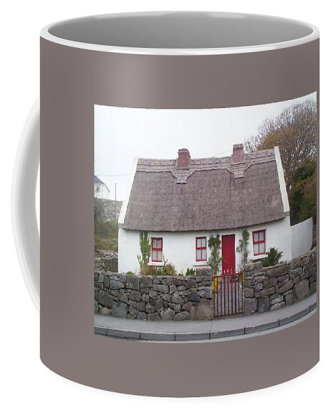 Ireland Coffee Mug featuring the photograph A Wee Small Cottage by Charles Kraus