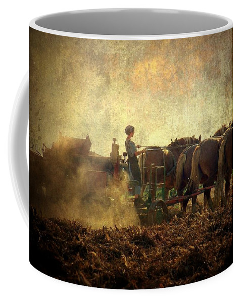 Woman Coffee Mug featuring the photograph A Woman's Work Is Never Done by Trish Tritz