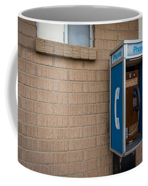 : Coffee Mug featuring the photograph Abandoned #1 by Jon Manjeot