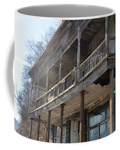 Abandoned Coffee Mug featuring the photograph Abandoned Belvedere 1 by Shelley Smith