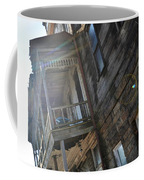 Abandoned Coffee Mug featuring the photograph Abandoned Belvedere 2 by Shelley Smith