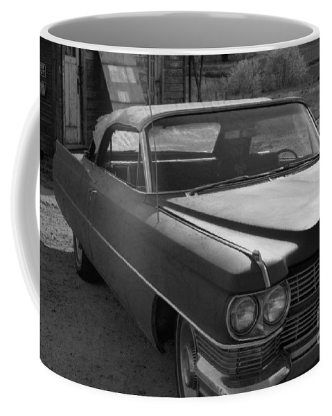 Cadillac Coffee Mug featuring the photograph Abandoned Classic by Richard Rizzo