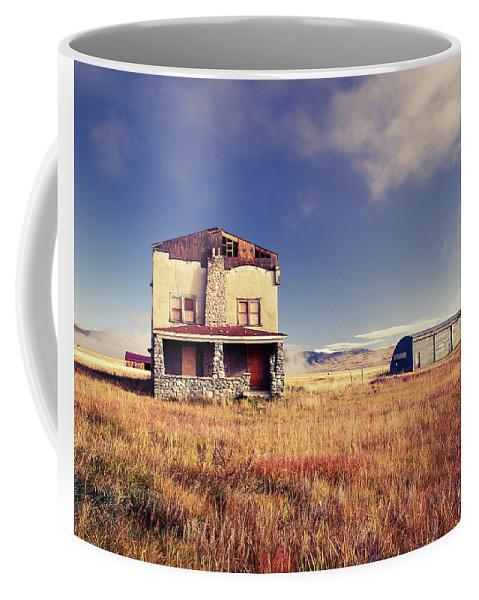 Abandoned House Coffee Mug featuring the photograph Abandoned House by Catherine Avilez