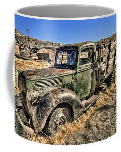 Abandoned Truck Coffee Mug featuring the photograph Abandoned Truck by Jason Abando