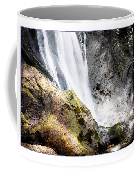 Aber Coffee Mug featuring the photograph Aber Falls by Mal Bray