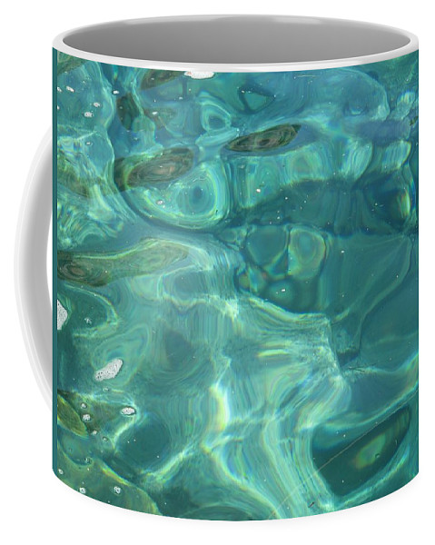 Above And Beneath Coffee Mug featuring the photograph Above And Beneath by Martine Murphy