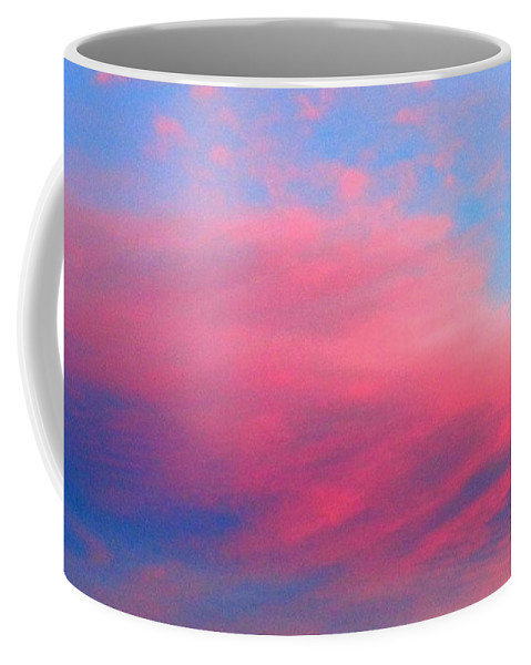 Viva Coffee Mug featuring the photograph Above Our Cloud Omg by VIVA Anderson