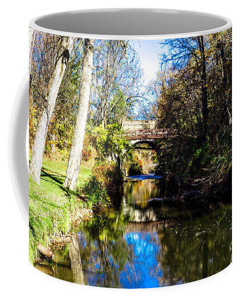 Bill Norton Coffee Mug featuring the photograph Above The Rapids by William Norton