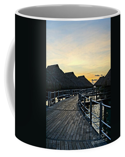 Bungalow Coffee Mug featuring the photograph Above The Water II by Ivana Kovacic