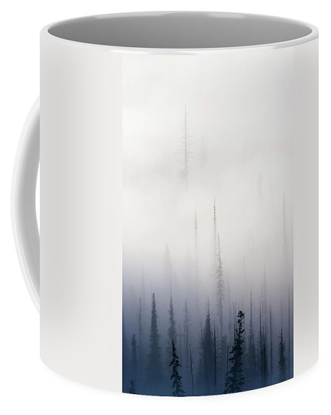 Clouds Coffee Mug featuring the photograph Above Them All by Mike Dawson