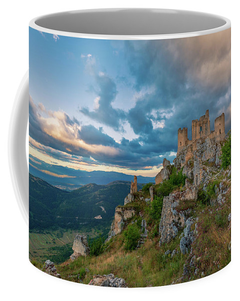 Stronghold Coffee Mug featuring the photograph The Last Stronghold, Italy by Kim Petersen