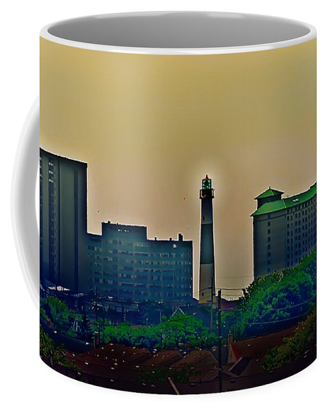 Atlantic City Coffee Mug featuring the photograph Absecon Lighthouse by Bill Cannon