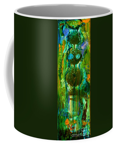 Absolution Coffee Mug featuring the painting Absolution by Genevieve Esson