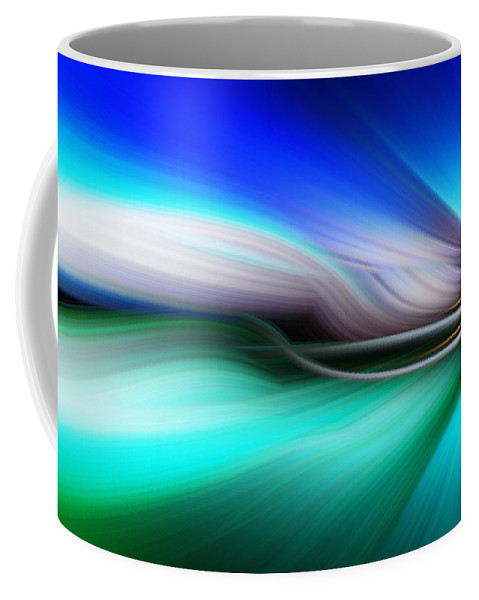 Art Coffee Mug featuring the photograph Abstract 0902 M by Howard Roberts