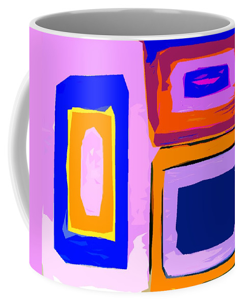 Decorative Coffee Mug featuring the painting Abstract 223b by Patrick J Murphy