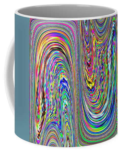 Abstract Coffee Mug featuring the photograph Abstract 3 by Tim Allen
