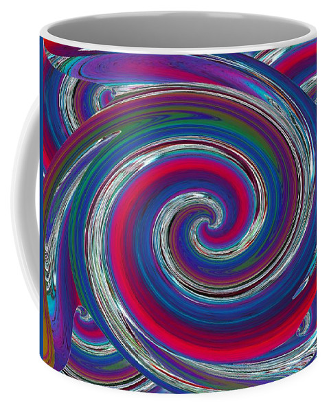 Abstract Coffee Mug featuring the photograph Abstract 7 by Tim Allen