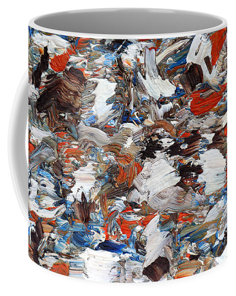 Art Coffee Mug featuring the painting Abstract 971 by Patrick J Murphy