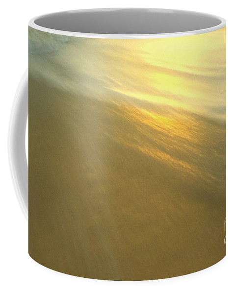 Beach Coffee Mug featuring the photograph Abstract Beach by Sven Brogren
