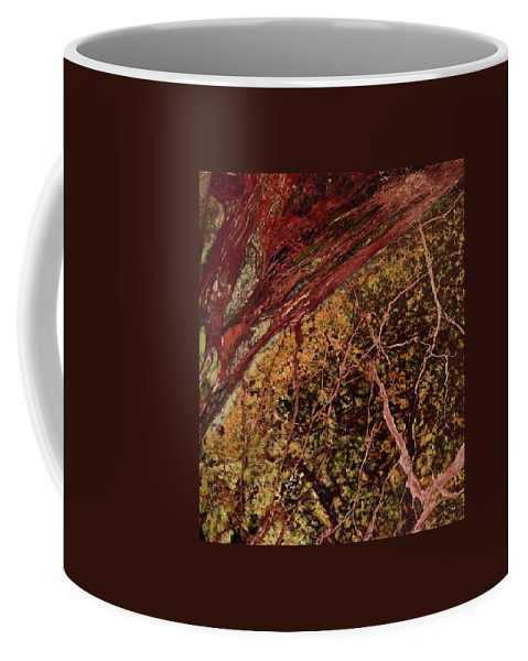 Abstract Coffee Mug featuring the photograph Abstract Beauty by Denise Mazzocco