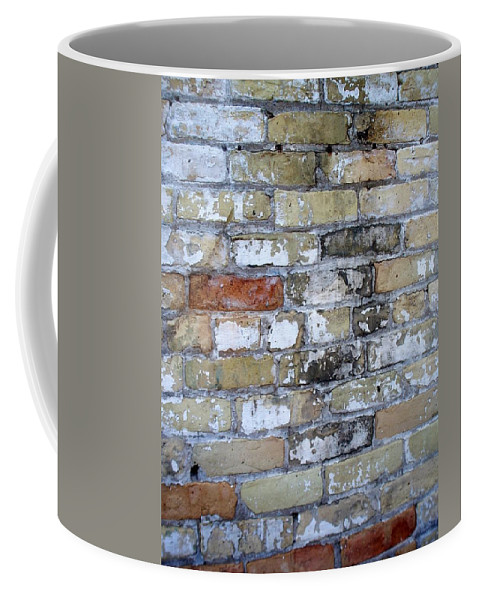 Industrial Coffee Mug featuring the photograph Abstract Brick 10 by Anita Burgermeister