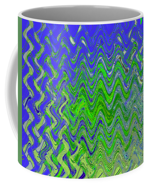 Art Coffee Mug featuring the photograph Abstract By Photoshop 50 by Allen Beatty