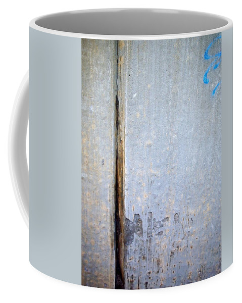 Industrial. Urban Coffee Mug featuring the photograph Abstract Concrete 19 by Anita Burgermeister